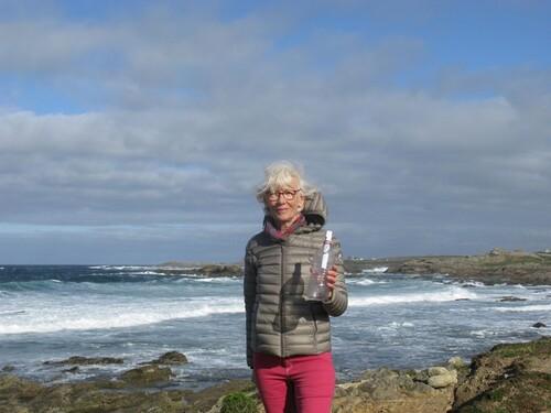 La bouteille à la mer dérive du Canada à la Bretagne