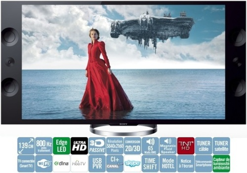 Sony KD-55X9005A : l'Ultra HD est là !