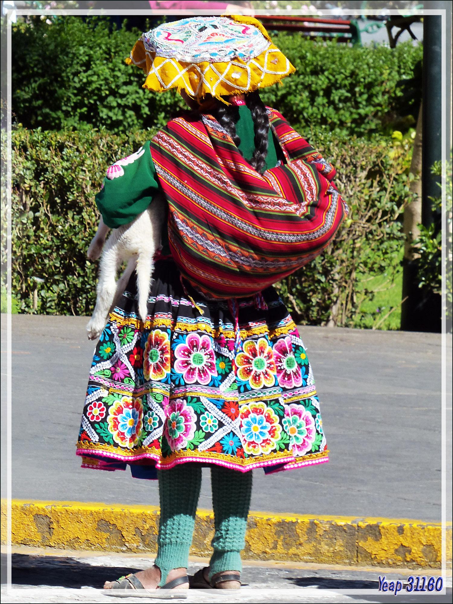 Peruvien Costume Traditionnel Femme Costume Photo Photo rsxdCthQ