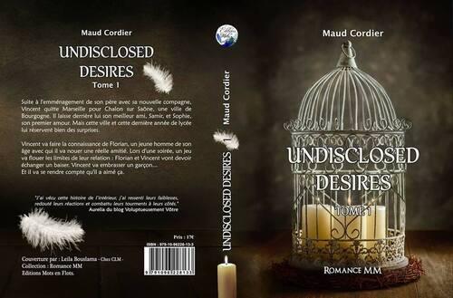 Couverture papier de Undisclosed Desires tome 1 - Maud Cordier