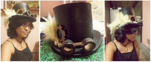 • Chapeau style steampunk