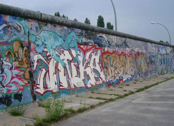 Oeuvre 5- Le mur de Berlin