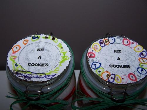 Kit à cookies aux M&'ms.