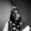 Wanstall, an Arapaho man. 1899. Photo by Rose & Hopkins. Source Denver Public Library.