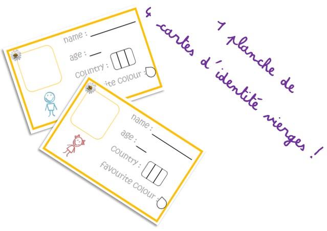 Jeux autour des cartes d'identité