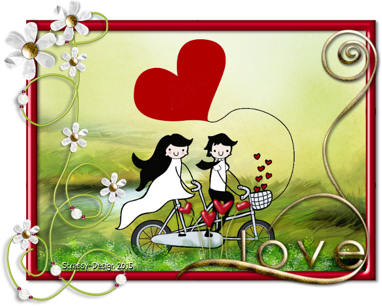N ° 01 créer avec LOVE - Chez Yolie