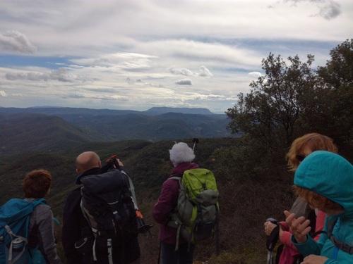 Serre de la Pene à Mayronne (Aude) Club de randonnée des Hautes Corbières