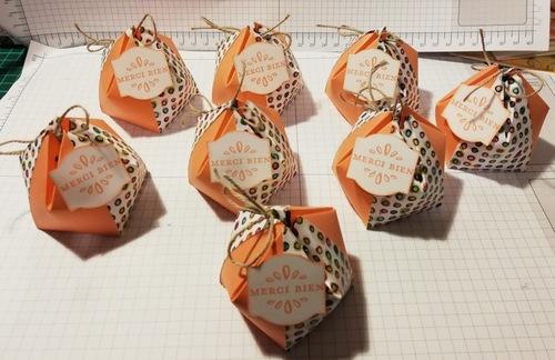 atelier chez Christine R. : les cadeaux....