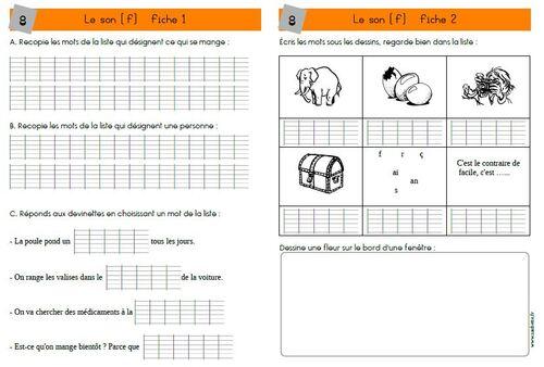 Tableaux de sons CE1