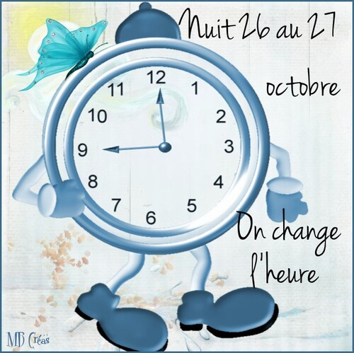 On change  l'heure