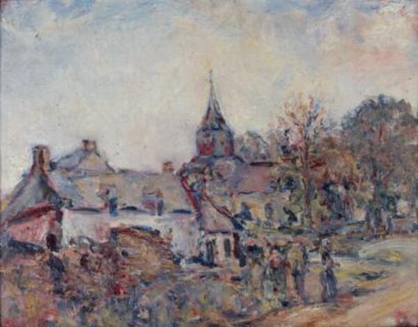 - 18 mars 1869 - naissance de Paul Kron (peintre)