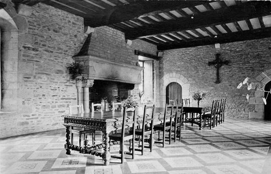 Lanvallay -  CPA -Tressaint - Foyer de charité - Salle à manger