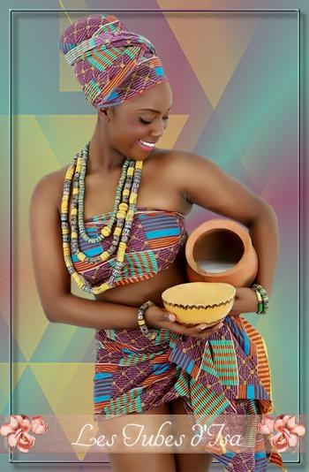 AF0030 - Tube femme africaine