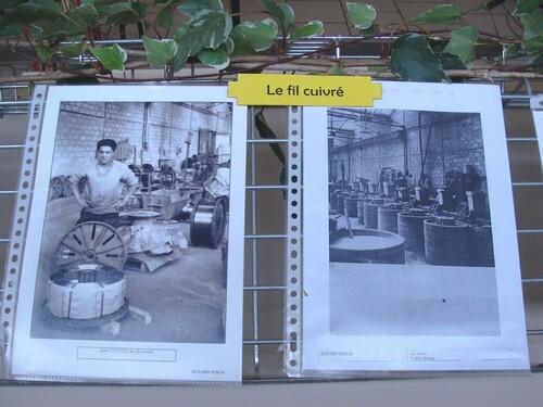 Une très belle exposition à Sainte Colombe sur Seine...