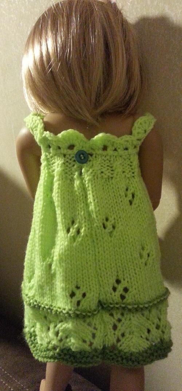 Une jolie robe en deux verts pour Tenessee