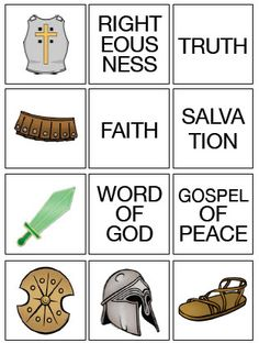 Armor of God Matching Game