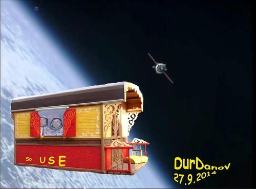 Espace/Spationautes/Soyouz/Bucuresti