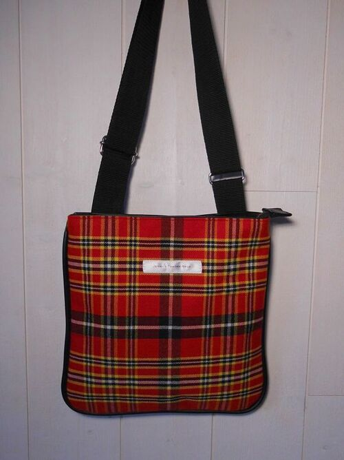 Sac à Bandoulière - Cross Over Bag Normandy Tartan