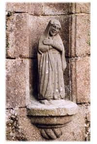 Bodilis, fontaine de la Vierge à Pont-an-Iliz