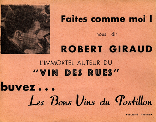 Robert Giraud, La petite gamberge, Denoël, 1961
