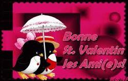 Bonne fête aux Valentin et Valentine