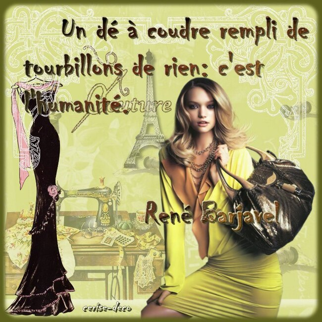 ciatation : haute couture