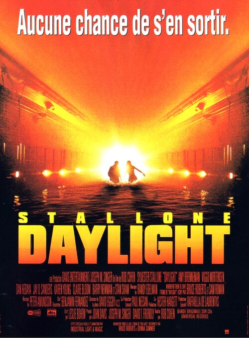 DAYLIGHT - BOX OFFICE SYLVESTER STALLONE 1996