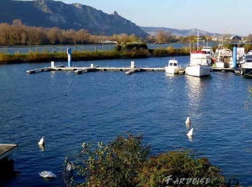Le port de l'Epervière à Valence