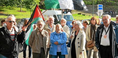 Palestine. Mobilisation pour Salah à Quimper (LT.fr -15/09/2017)
