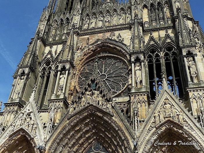 Cathédrale de Reims - L'extérieur