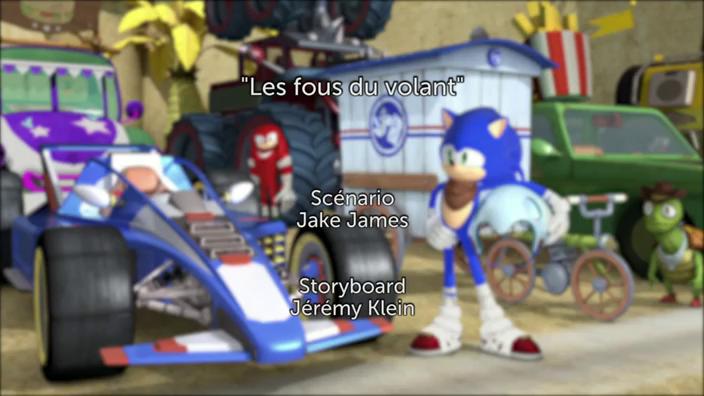 Sonic Boom - 2x31 - Les fous du volant
