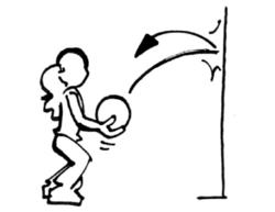 Jeux individuels avec balle