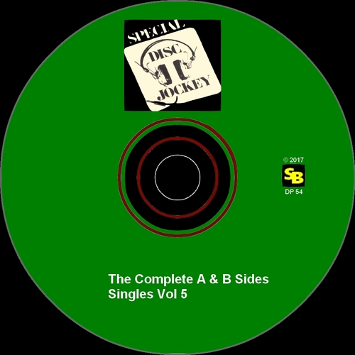 "Various Artists : CD "" Special Disc Jockey : The Complete Singles Vol 5 "" SB Records DP 54 [ FR ]"