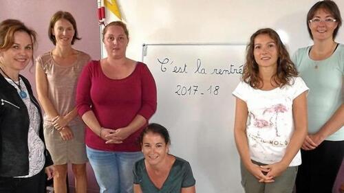 L'équipe pédagogique 2017-18