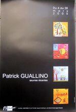 Mars 2005 GUALLINO  galerie Pikinasso