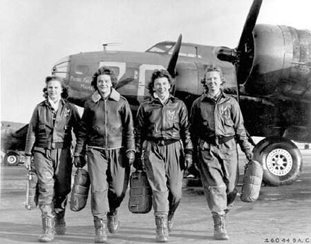 Des femmes pilotes émérites
