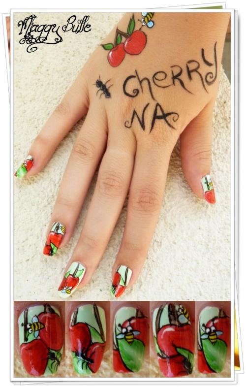 Participation au concours de Cherry Nail & Un grand Merci