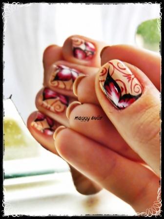 Participation au concours de Saphir - Miss Nails Papillon