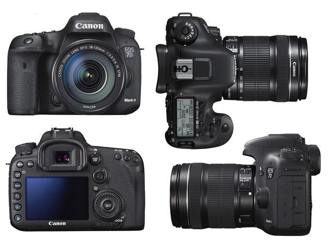 (05/2015) Canon EOS 7D Mark II - GPS intégré - capteur CMOS au format APS-C x 1.6 (Couplé avec Tamron 150-600mm)