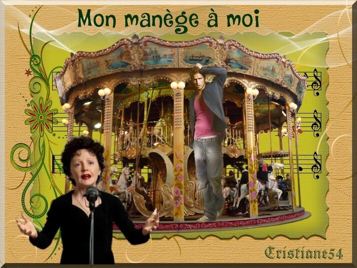 Défi gentille rebelle ( mon manège à moi ) Edith Piaf