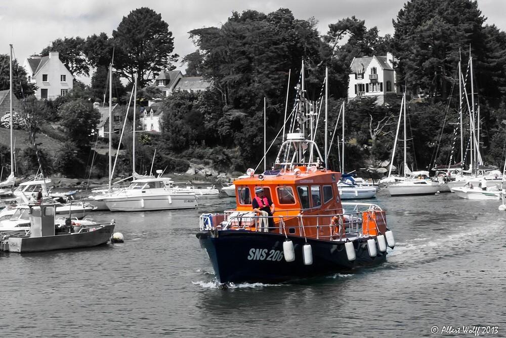 Bretagne - 4 août 2013 - on embarque