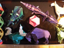 mes ORIGAMIS***
