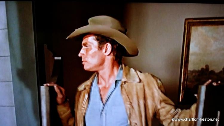 TERRE SANS PARDON - hommage à Charlton Heston et Anne Baxter... -1956