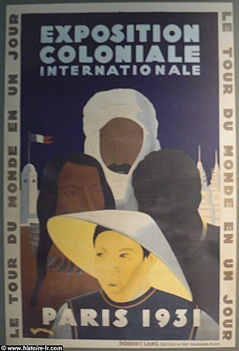 affiche exposition coloniale 1933
