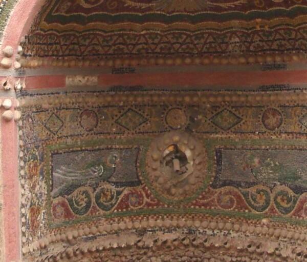Pompei, Maison de la Petite Fontaine, détail