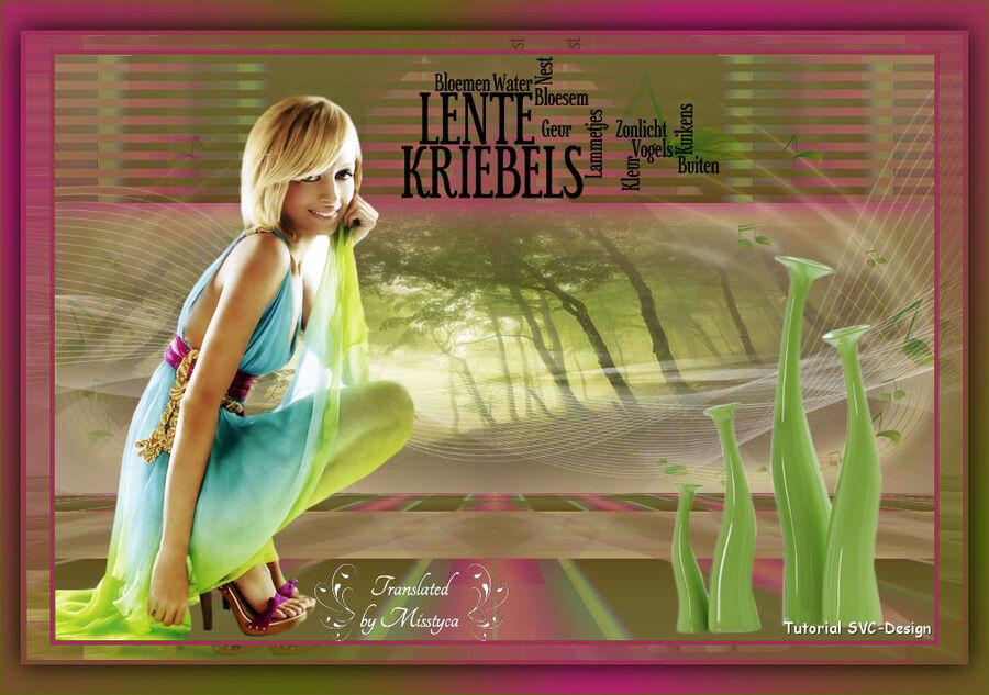 Lente Kriebels - Sylviane