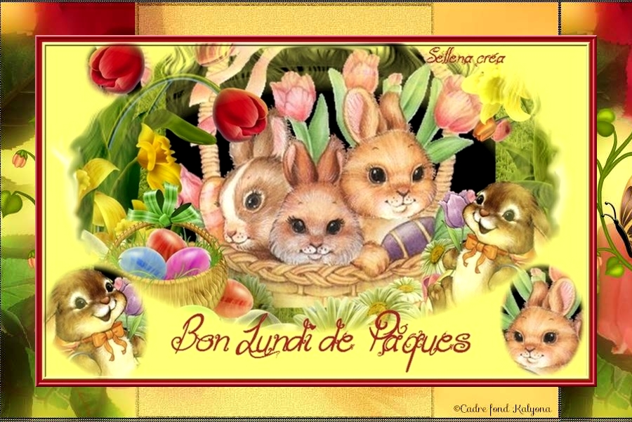 Passez un bon lundi de Pâques