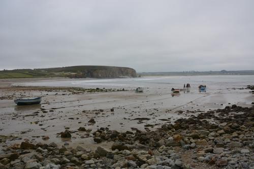 Finistère -départ plage de Kerloc'h