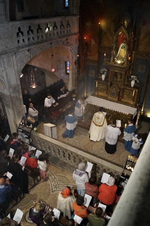 13 mai : Pèlerinage avec l'Institut du Christ-Roi