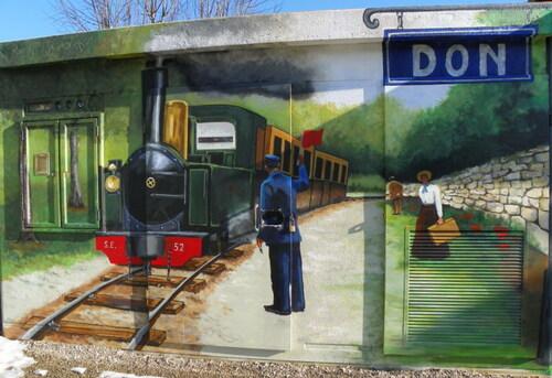 Fresque à Don
